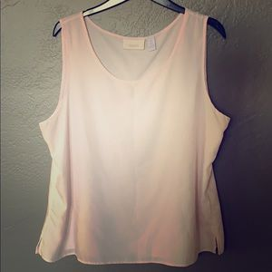 Chico's Pastel pink blouse
